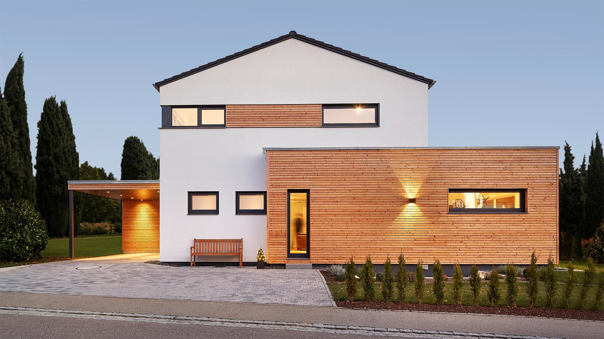LUXHAUS Architektenhaus - Satteldach Landhaus 207